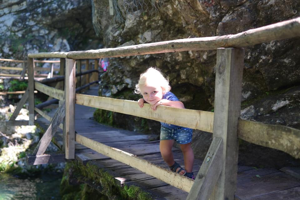 Najmłodsza weekendowa podróżniczka - Helenka