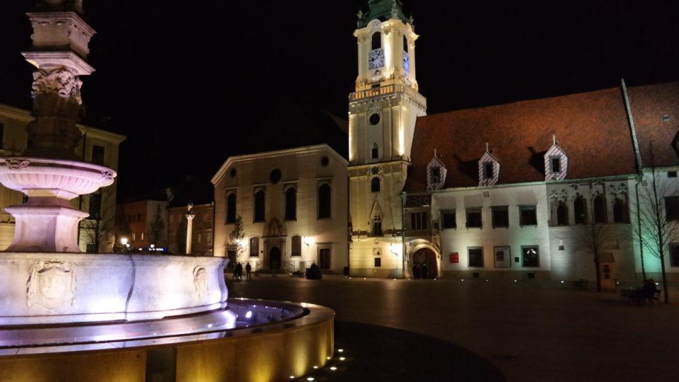 Starówka w Bratysławie